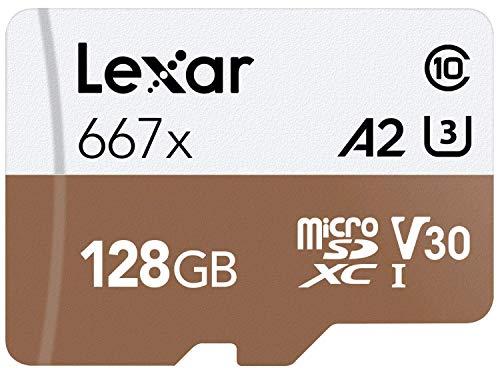 Amazon: MicroSD Lexar Professional 667x 128GB UHS-I U3