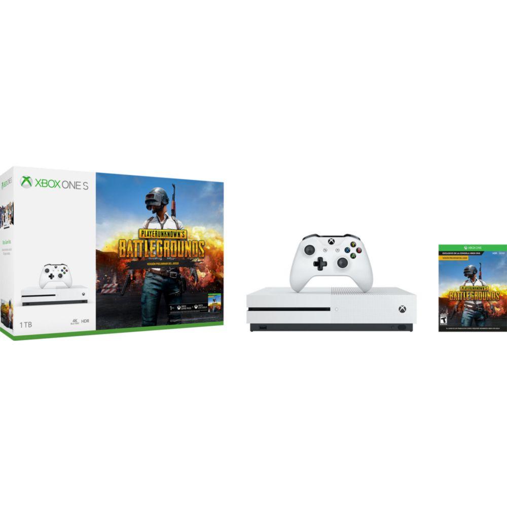 Elektra en línea: Consola Xbox One S 1TB más PUBG