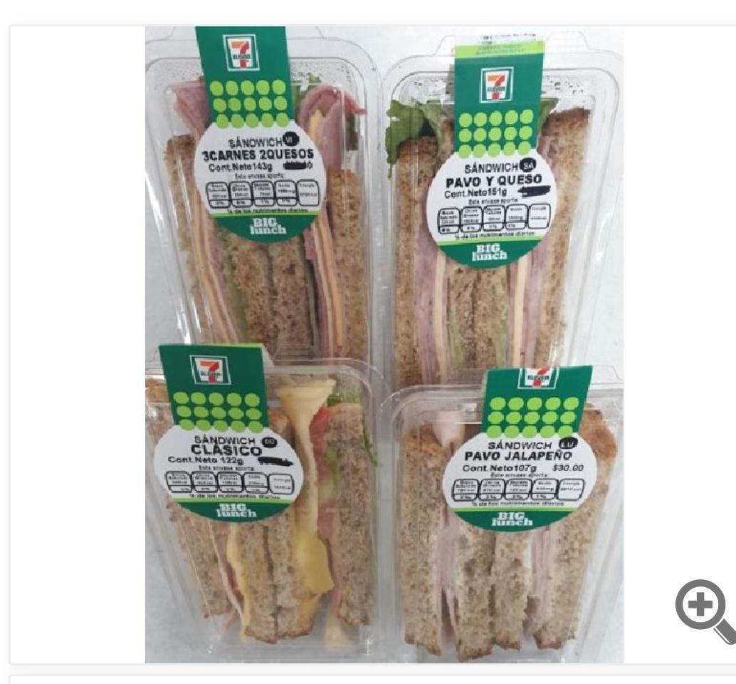 7 Eleven y DCoupon: Lunes de sandwich gratis