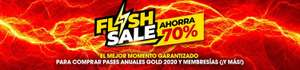 Six Flags: Flash sale para todo el publico