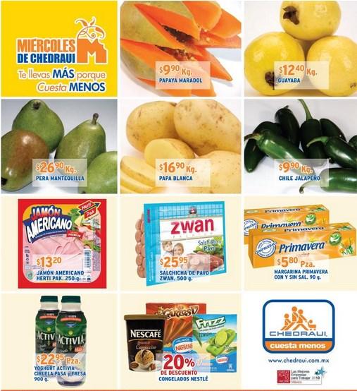 Miércoles de Chedraui junio 12: plátano $5.90, 20% en congelados Nestlé y más