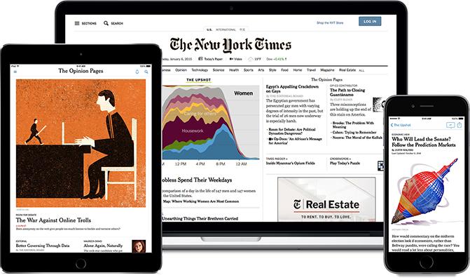 8 Semanas del The New York Times Digital y app ¡Gratis! [Sin tarjeta de credito]