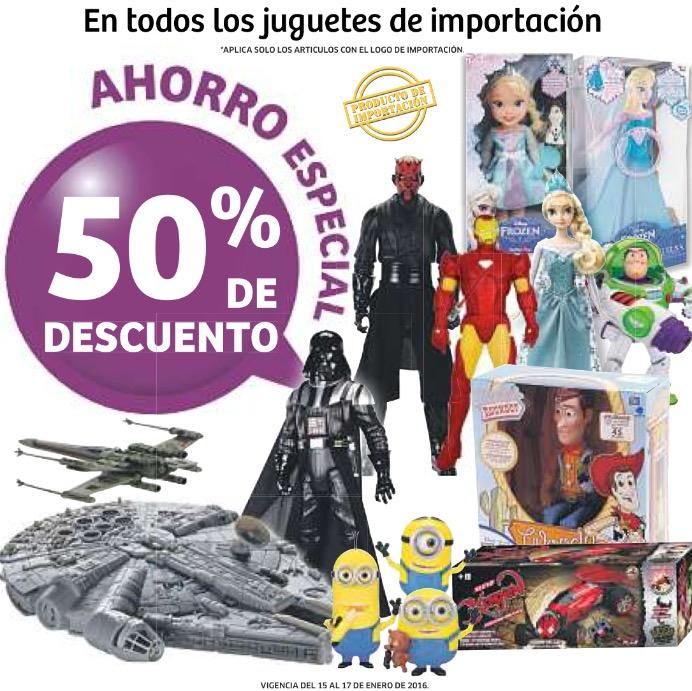 Soriana: 50% de descuento en juguetes importados, 20% en vinos y licores