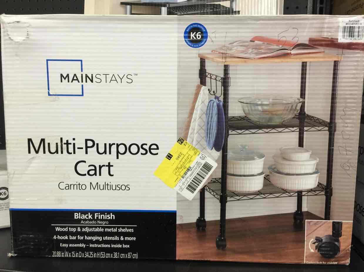 Walmart: Carrito multipropósitos $545.03