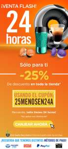 Dolce Gusto 24 Hrs con -25%
