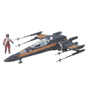 Amazon: Star Wars The Force Awakens 3.75-inch Vehicle Poe Dameron's X-Wing
