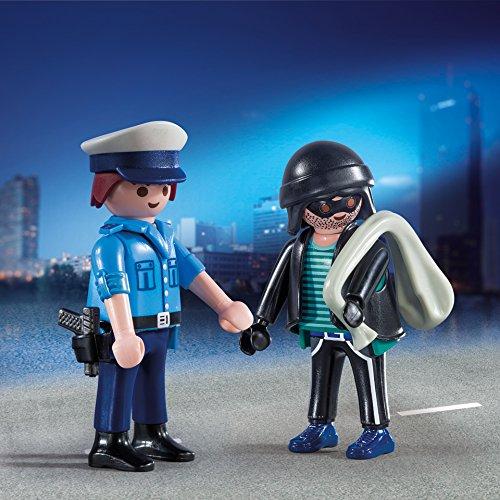 Amazon Playmobil en Paquete Policía y Ladrón