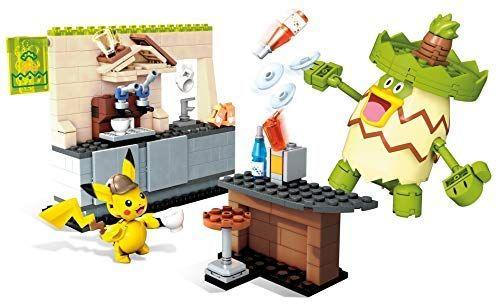 Amazon: Mega Construx MCX Pokémón Detective Pikachú Playset Grande Building Kit