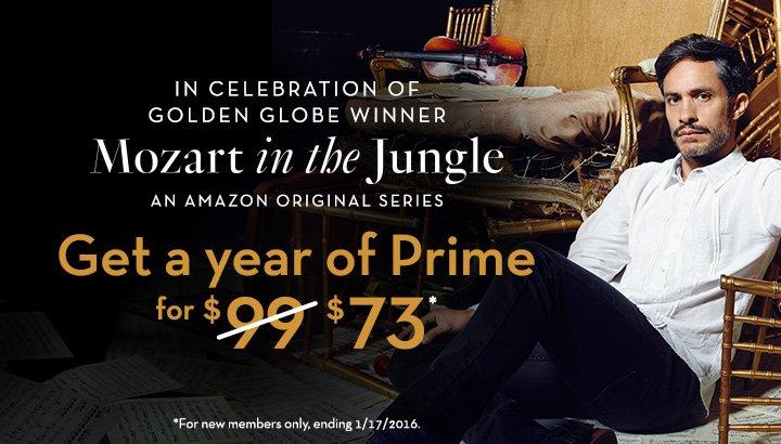 Amazon Prime suscripción anual 73 dólares (regular $99)