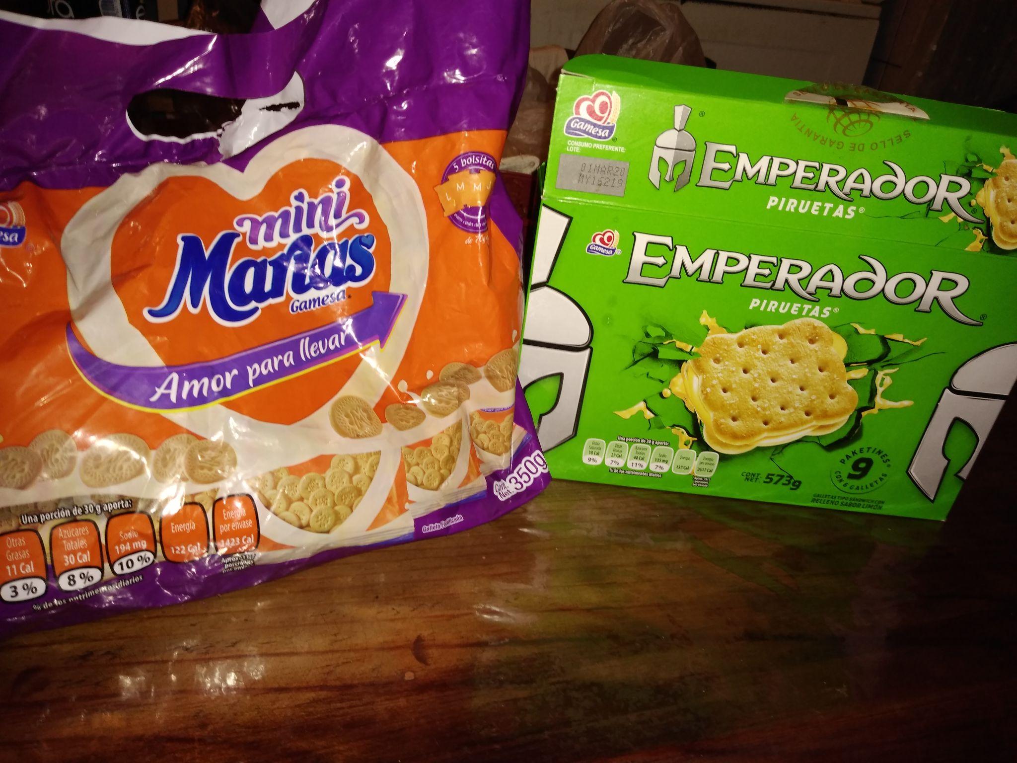 Soriana: galletas María $9.90 pesos y emperador limón