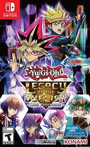 Amazon: Yu-Gi-Oh: Legacy of the Duelist: Link Evolution para Nintendo Switch (no aplica prime)