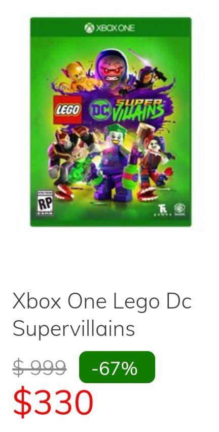 Sanborns: Lego Dc SuperVillains Xbox One