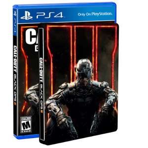 Amazon: Call of Duty Black Ops 3 Steel Book Edition para Xbox One y PS4