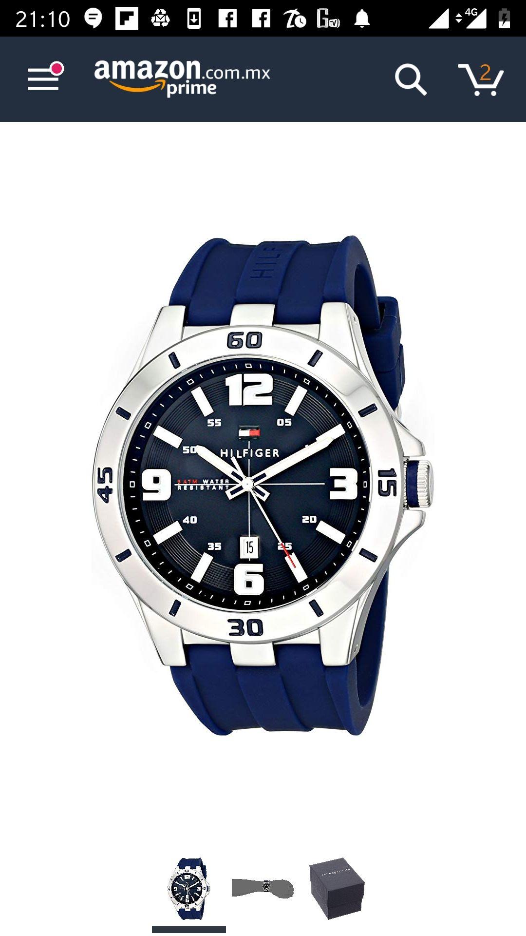 Amazon: Reloj Tommy Hilfiger