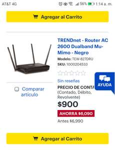 Best Buy: TRENDnet - Router AC 2600 Dualband Mu-Mimo