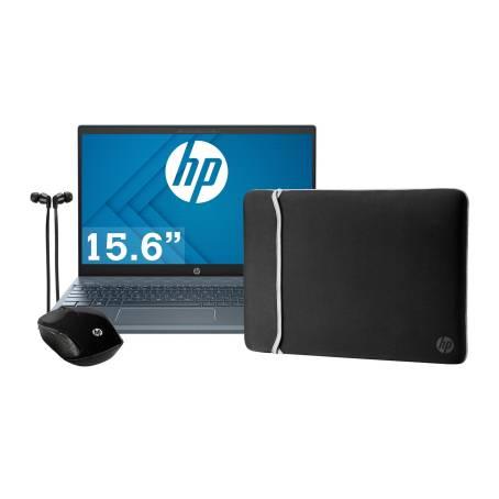Sam's Club: Laptop Hp Ryzen 5, 8gb Ram, 256gb SSD + Mouse, audifonos y funda