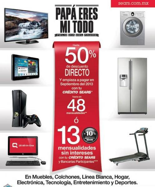 Sears: promociones en hogar, electrónica, ropa, herramientas y más