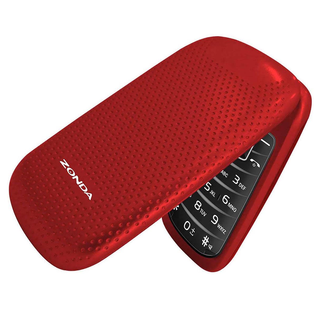Chedraui: celular básico tipo folder Zonda ZM120 (varios colores)
