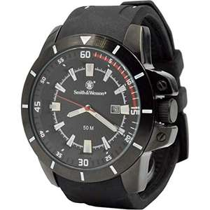 Amazon: Reloj Smith and Wesson SWW397WH-BRK Trooper
