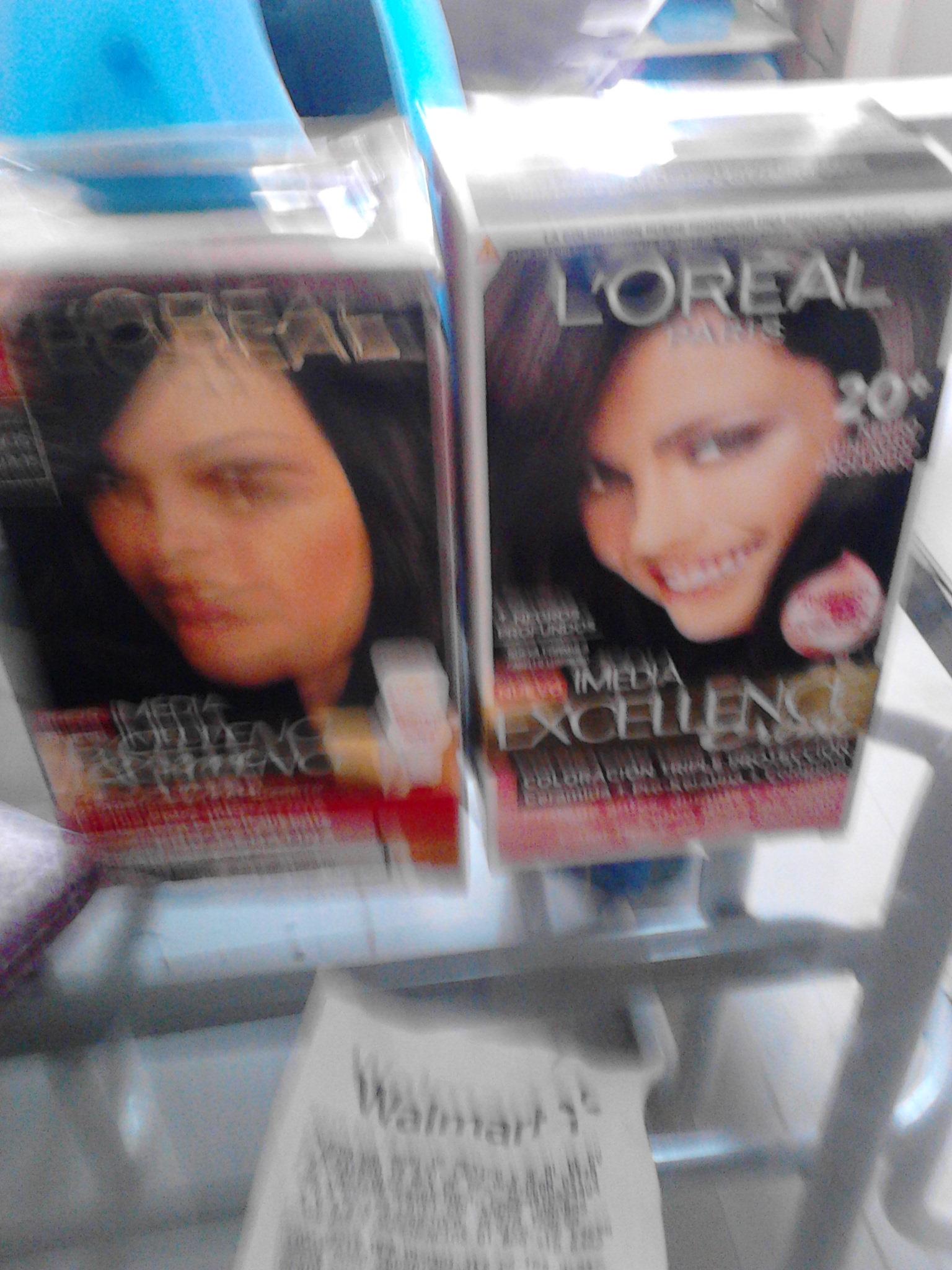 Walmart La Cañada: tinte L'Oréal excellence a $14