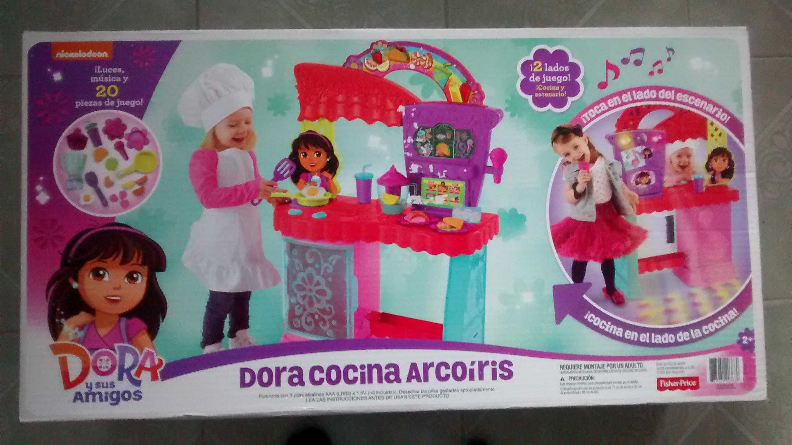 Bodega Aurrerá Texcoco: Dora Cocina Arcoiris