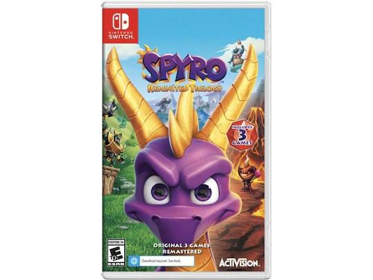 Liverpool en línea: Spyro para Nintendo Switch