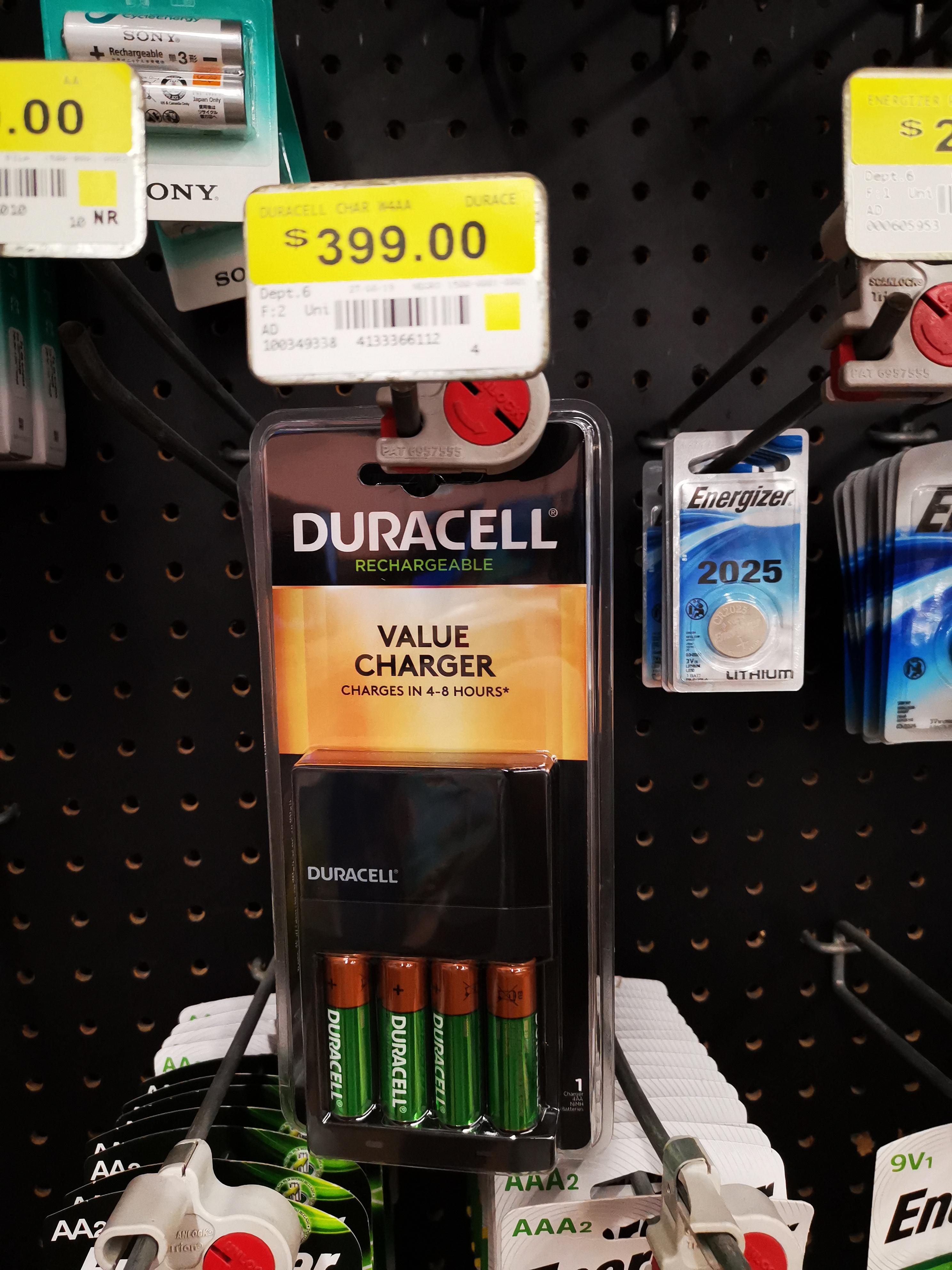 Walmart: Duracell Baterías recargables