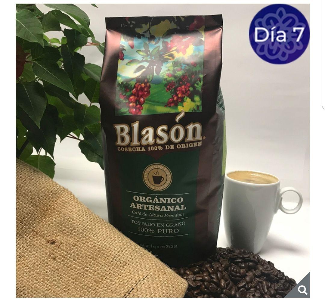 COSTCO: CAFÉ BLASON ORGÁNICO EN GRANO 1KG