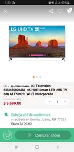 Linio: Tv lg 65'' reacondicionado