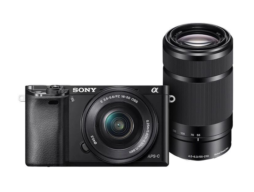 Liverpool en línea: Sony a6000 con lente 16-50 y 55-200 (pagando con Santander a través de PayPal)