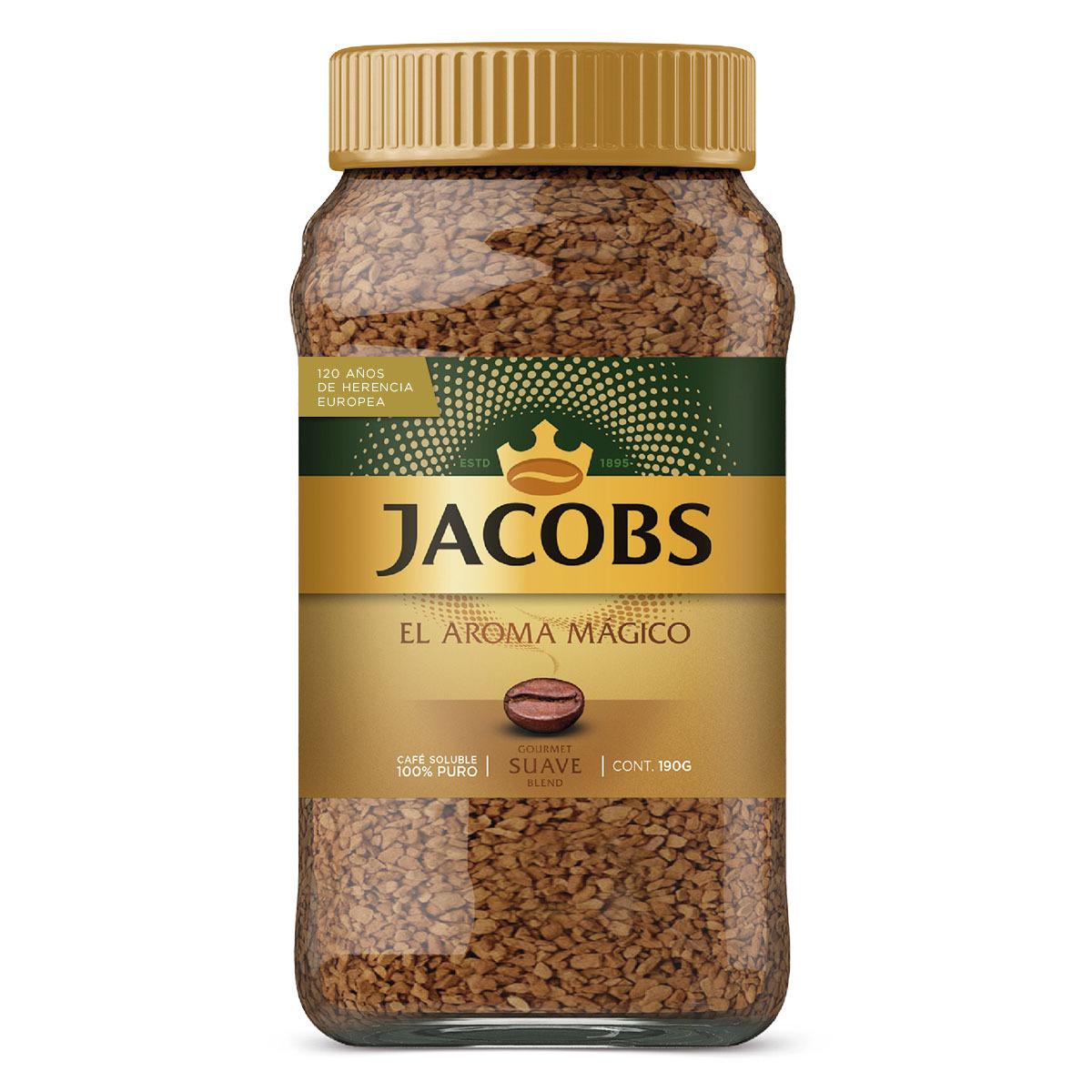 Chedraui Café Jacobs Suave o Intenso 190 Gr 2 x $100