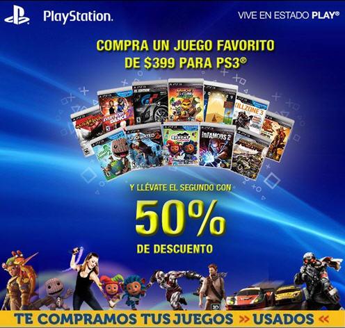 Game Planet: juegos seleccionados para PS3 a $399 y 2do a mitad de precio