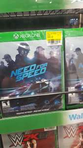 Walmart: Need for Speed para Xbox One a $699