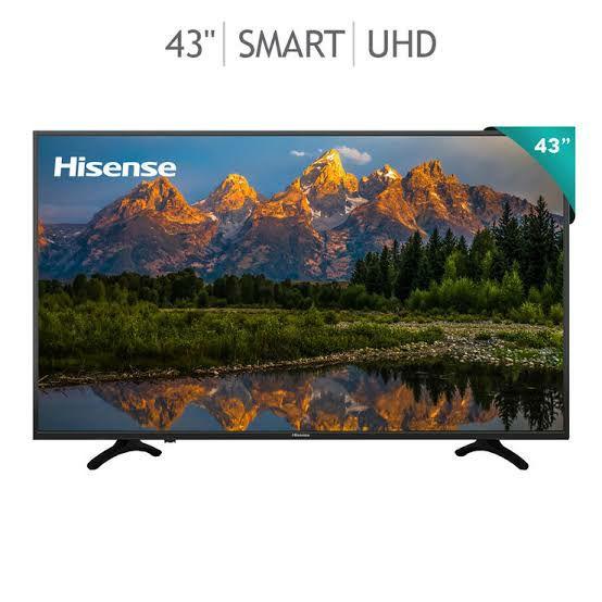 "Costco:Hisense Pantalla 43"" Smart TV 4K UHD"