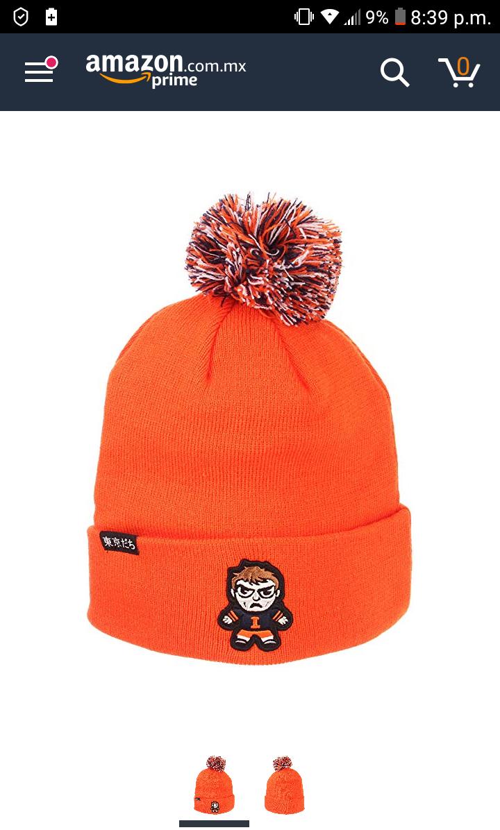 Amazon: Gorro ZHATS NCAA Unisex Sapporo Knit
