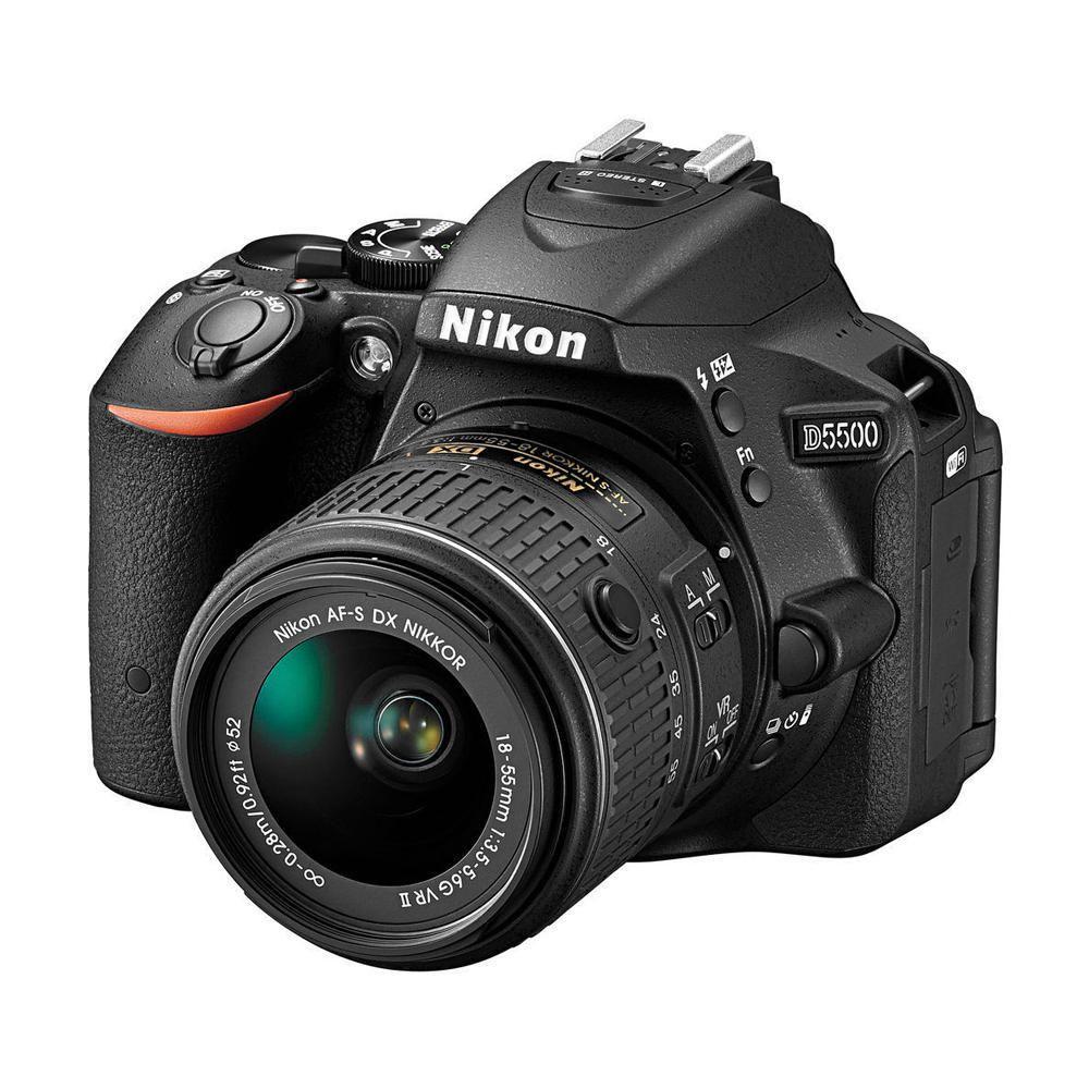 Elektra Online: Cámara Fotográfica Nikon D5500 Negra