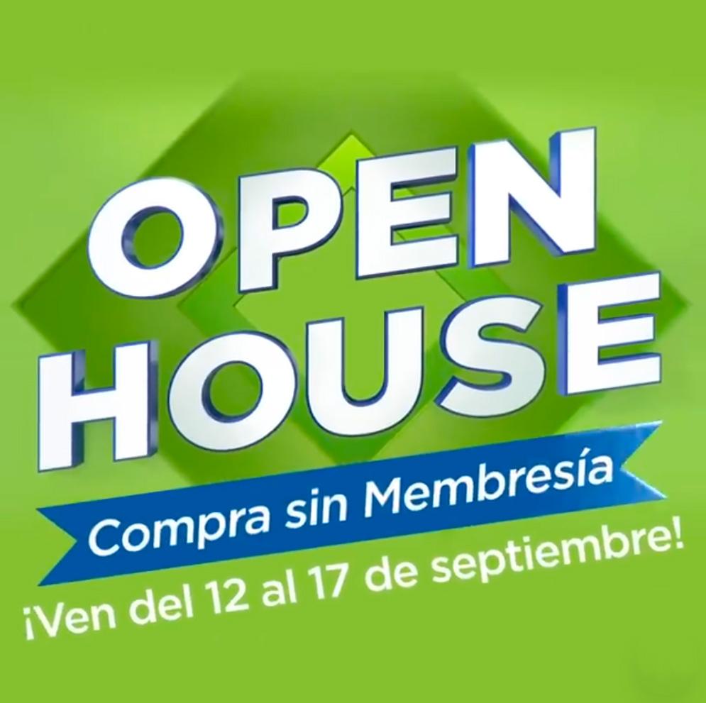 Sam's Club: Open House del 12 al 17 de septiembre | 18 MSI + 3 de bonificación | regalo al hacerte socio