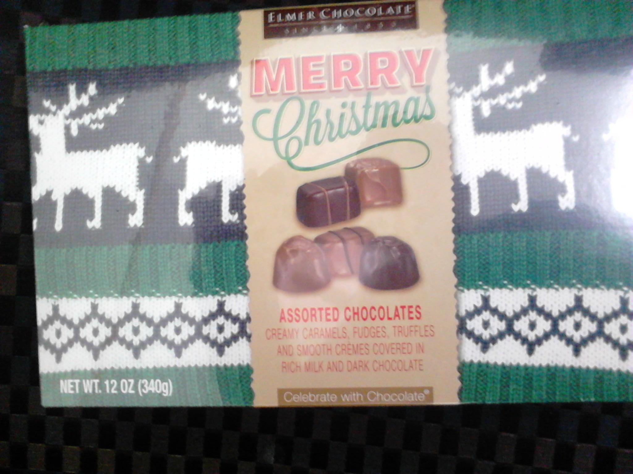 Superama: Caja de Chocolates marca Merry Christmast 340gr $35.03