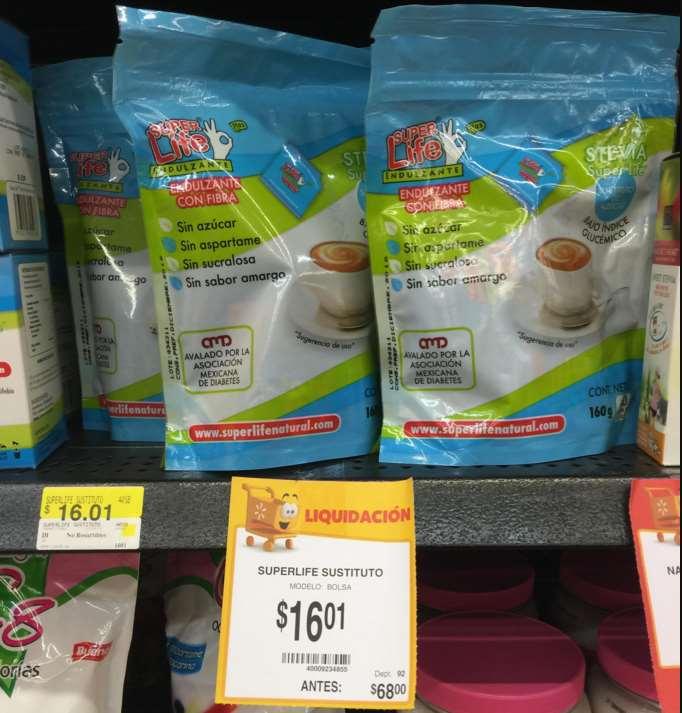 Walmart: endulzante Superlife $16.01