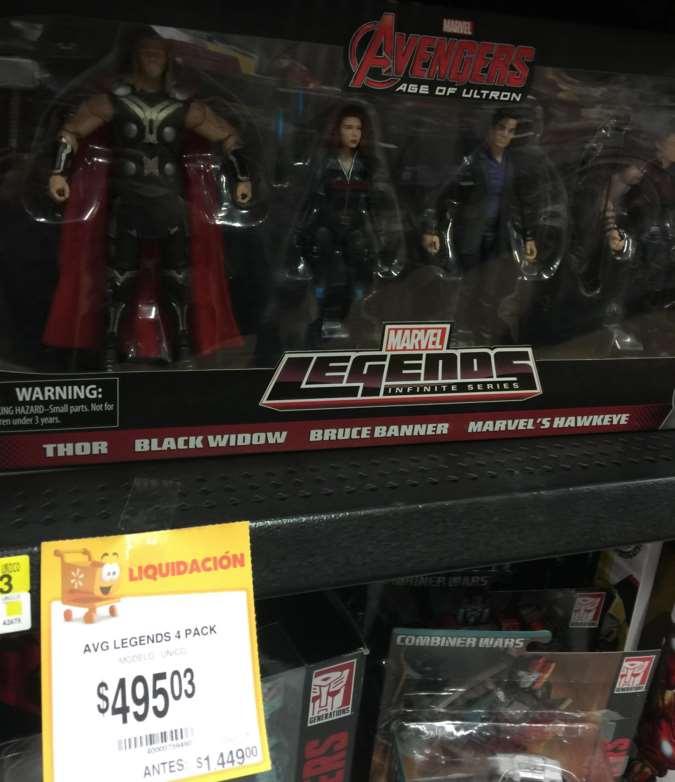Walmart: varios juguetes en liquidación (ej: Adivina Quién Star Wars $95.03)