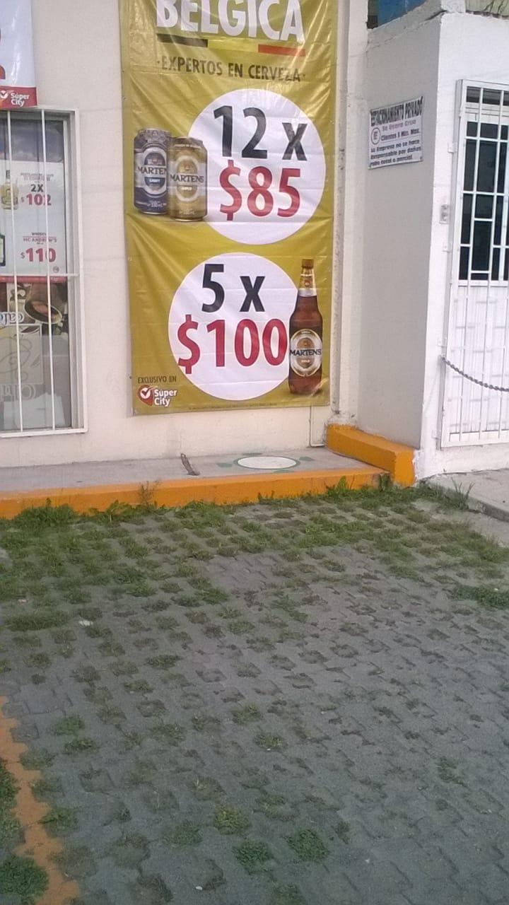 Soriana Super City: Belgas 12 cervezas $85 Minisuper