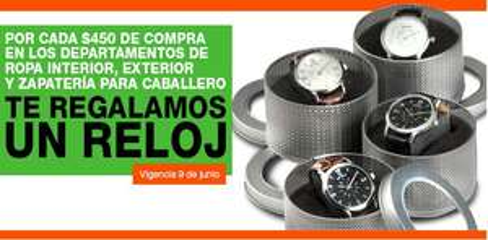 """La Comer: reloj gratis comprando ropa de hombre, TV LED 40"""" + blu-ray Samsung $8,498 y +"""