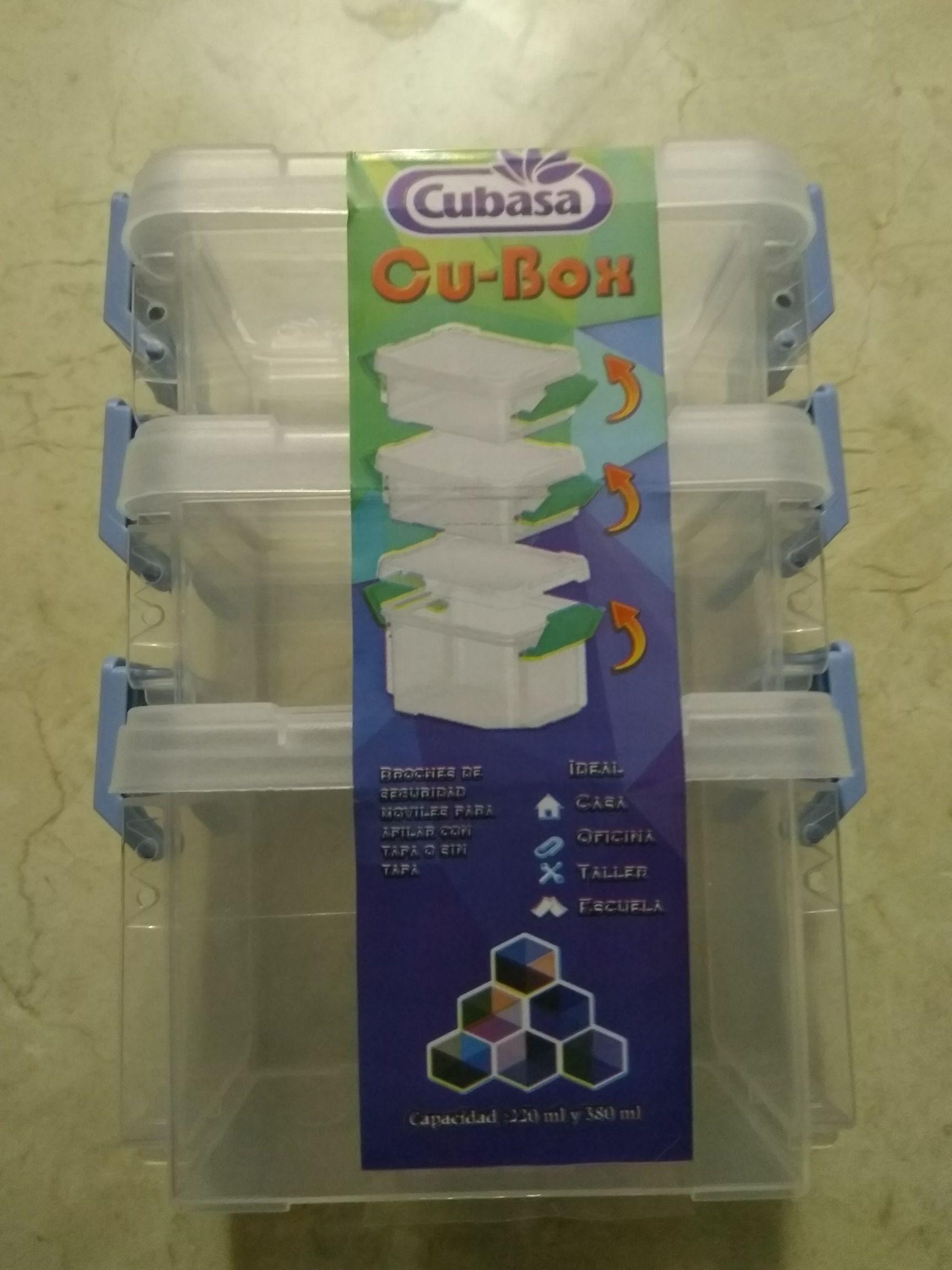 Walmart Cu-Box chico marca Cubasa