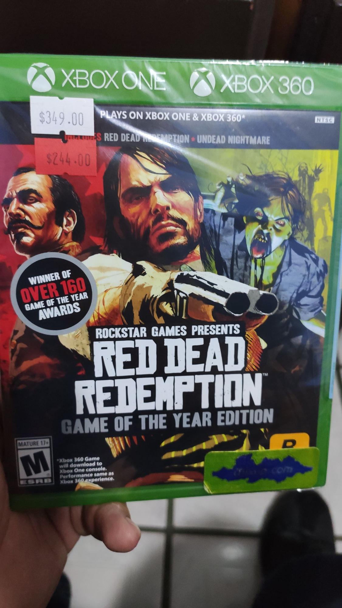 Mixup: Red Dead Redemption Edición GOTY para Xbox One