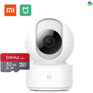 Linio XIAOMI IP Camera 1080P HD 360 Home Security Cameras-white