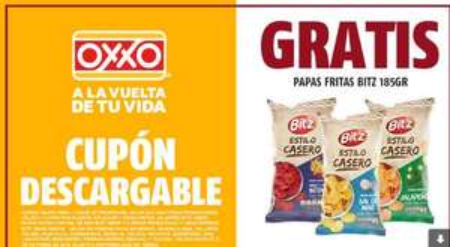 OXXO: Papas fritas gratis estilo casero