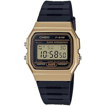Linio: Reloj Casio Digital Retro Negro-Dorado (pagando por Paypal)