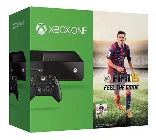 Linio: Xbox One (NEGRO) 500 GB + FIFA 15 (pagando con PayPal)