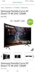 "Costco: Smart TV Samsung 55"" 4K UHD Curva + Lampara de Mesa Gratis."