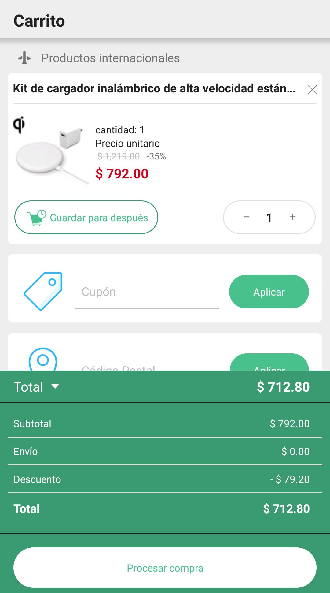 Linio: Cargador Xiaomi QI para carga rápida inalámbrica (pagando con PayPal)
